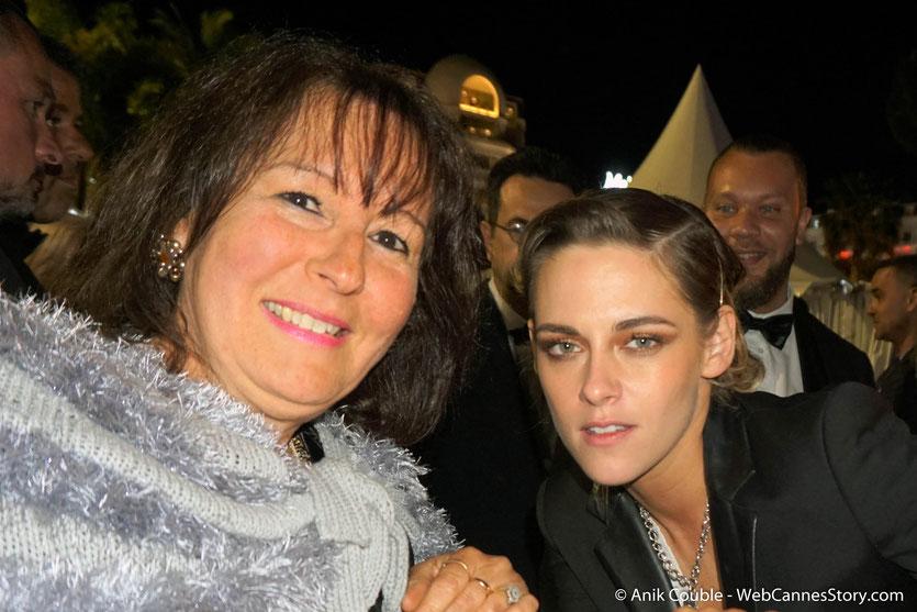 En compagnie de Kristen Stewart, membre du jury - Festival de Cannes 2018 - Photo © Anik Couble