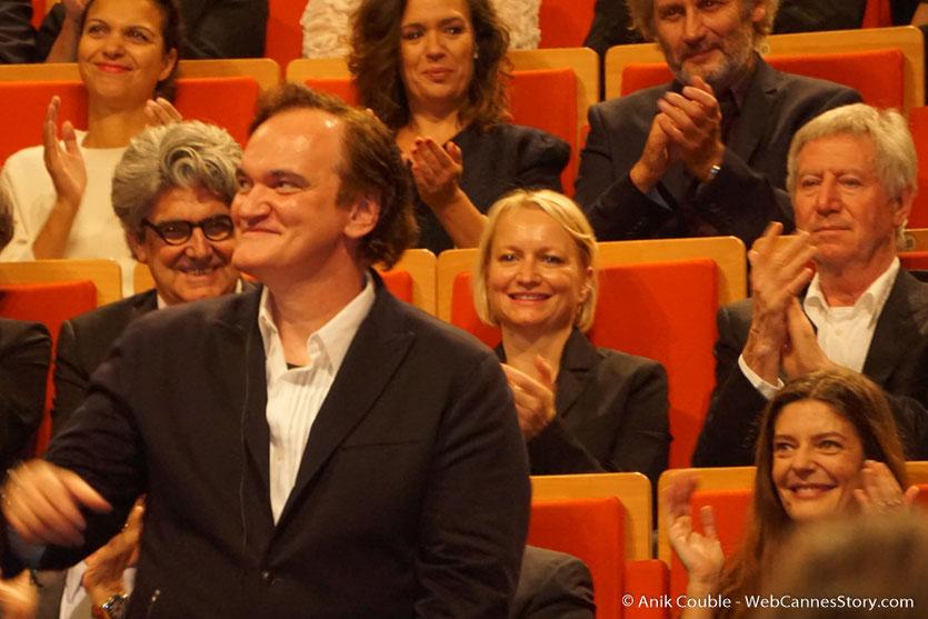Quentin Tarantino - Cérémonie de remise du Prix Lumière - Amphithéâtre 3000 - Lyon - Oct 2016 - Photo © Anik Couble