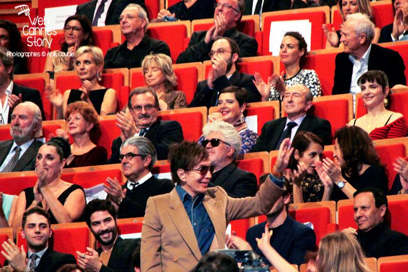 Michael Cimino, lors de la cérémonie de remise du Prix Lumière à Pedro Almodovar - Festival Lumière - Lyon - Oct 2014 - Photo © Anik COUBLE