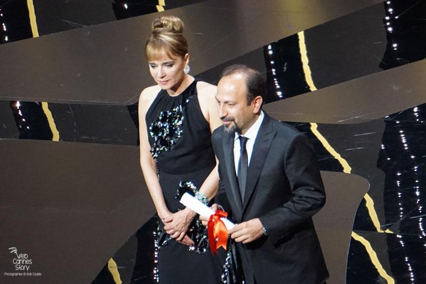 """Asghar Farhadi, Prix du Scénario pour """"Le client"""" - Festival de Cannes 2016 - Photo © Anik Couble"""
