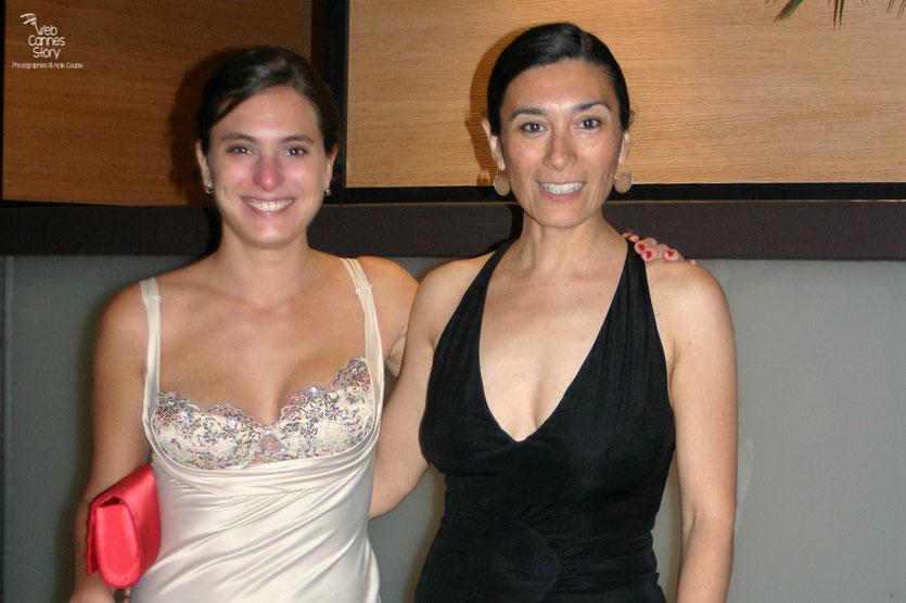"""Victoria Raposo et Eva Bianco, Prix d'interprétation  féminine de la sélection """" Un certain regard """" -   Festival de Cannes 2010 - Photo © Anik Couble"""
