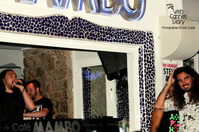 Steve AOKI  -  Café Mango  -  Ibiza  -  Août 2014 - Photo © Anik COUBLE