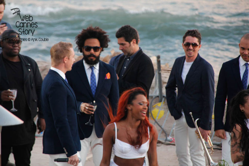 Major Lazer, au Grand Journal de Canal +  Festival de Cannes 2013 - Photo © Anik COUBLE