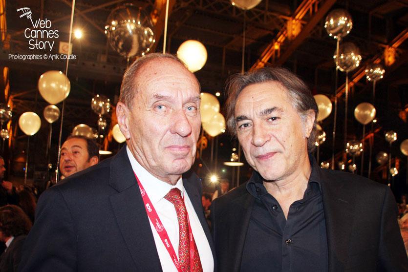 Max Lefrancq-Lumière et Richard Berri - Festival Lumière - Lyon - Octobre 2013 - Photo © Anik COUBLE