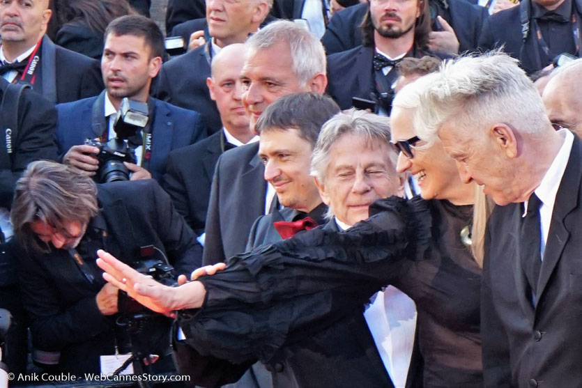 Laurent Cantet, Cristian Mangiu, Roman Polanski, Jerry Schatzberg, Jane Campion et  David Lynch - Red Carpet - Cérémonie des 70 ans du Festival de Cannes - Festival de Cannes 2017 - Photo © Anik Couble