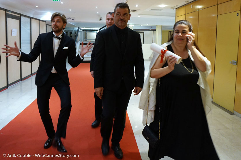 "Ruben Östlund - Palme d'or pour ""The Square"" - Festival de Cannes 2017 - Photo ©  Anik Couble"