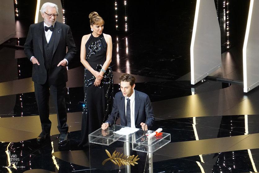 """Xavier Dolan - Grand Prix du Jury pour """"Juste la fin du monde"""" - Festival de Cannes 2016 - Photo © Anik Couble"""