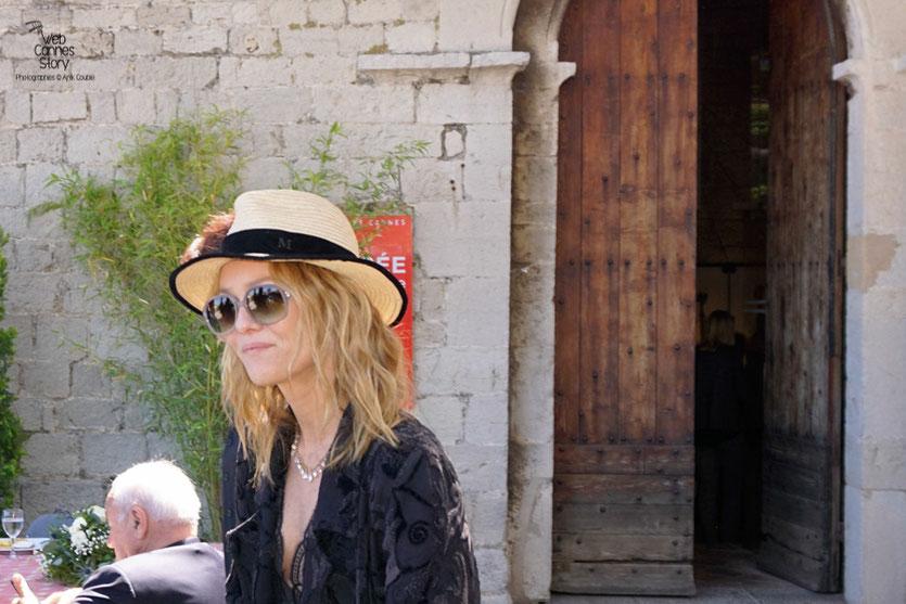 Vanessa Paradis, lors  du déjeuner de presse - Festival de Cannes 2016 - Photo © Anik Couble