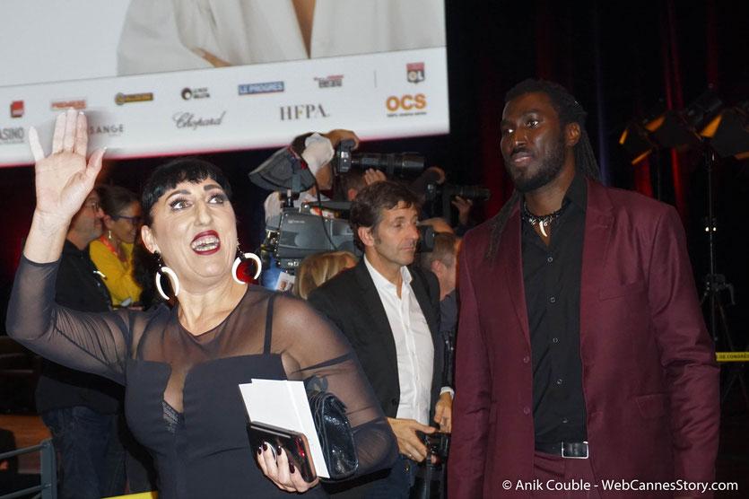 Rossy de Palma, la très populaire actrice espagnole, lors de la cérémonie de remise du Prix Lumière à Jane Fonda - Festival Lumière 2018 - Lyon - Photo © Anik Couble-
