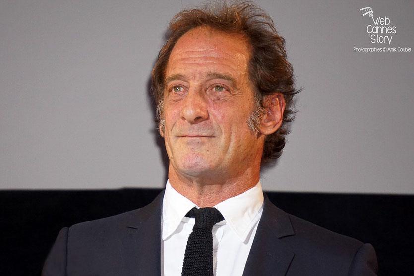 Vincent Lindon, lors de la cérémonie d'ouverture du Festival Lumière 2015 - Lyon - Photo © Anik COUBLE