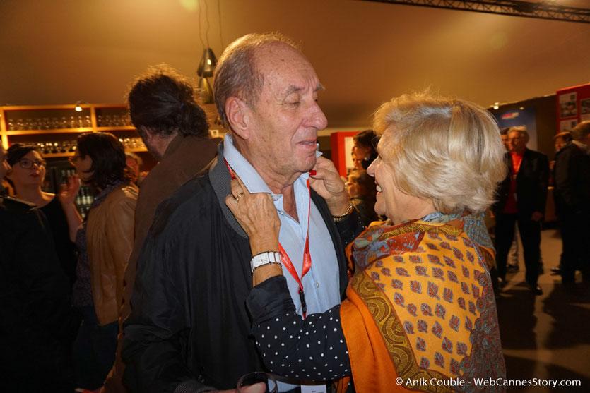Max Lefrancq-Lumière et son épouse Michèle - Village du Festival - Festival Lumière 2016 - Lyon - Photo © Anik Couble
