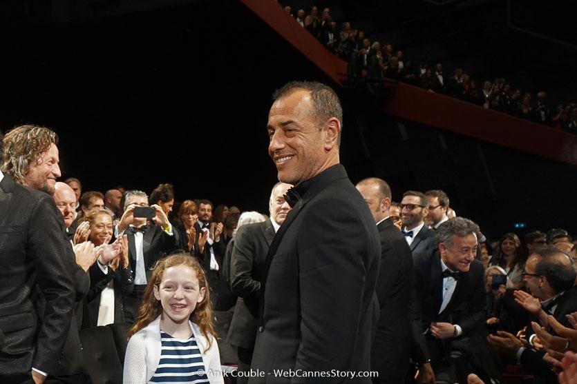 Matteo Garrone, lors de la projection  de son film, Dogman, présenté, le 16 mai  2018, en sélection officielle - Festival de Cannes 2018 - Photo © Anik Couble