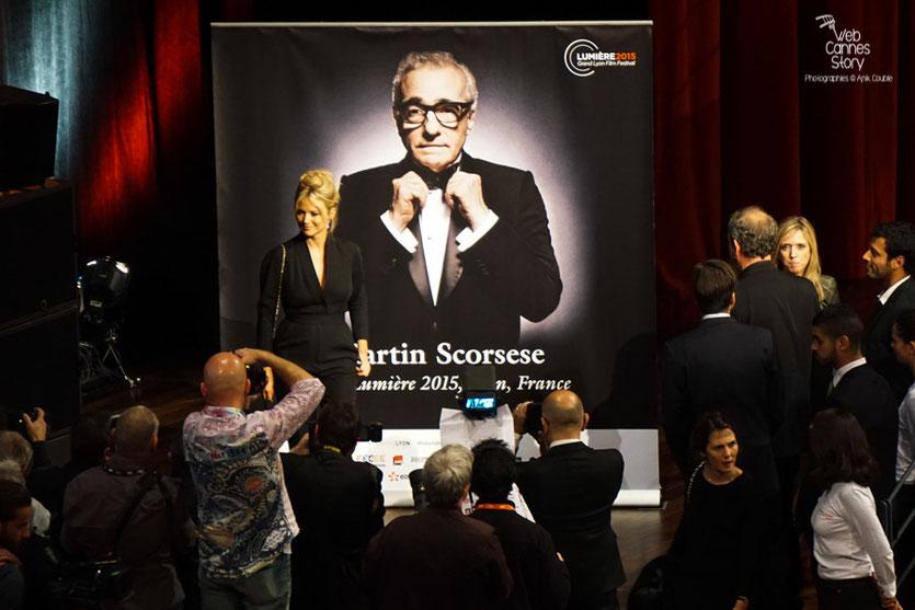 Virginie Efira  - Prix Lumière à Martin Scorsese - Festival Lumière - Lyon - Oct 2015 - Photo © Anik COUBLE