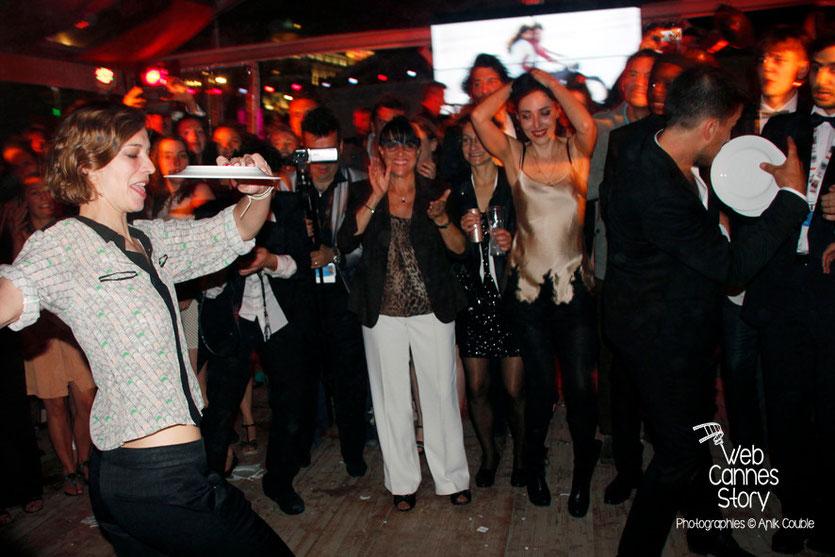Céline Sallette, lors de la soirée du film «Géronimo» de Tony Gatlif - Festival de Cannes 2014 - Photo © Anik COUBLE