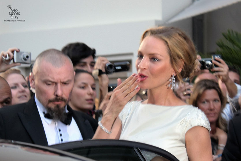 Uma Thurman, membre du Jury - Festival de Cannes 2011 - Photo © Anik Couble
