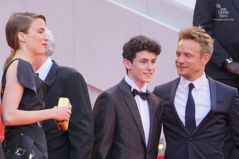"""L'équipe du film """" La fille inconnue """" de Jean-Pierre et Luc Dardenne, dont Adèle Haenel et Jérémie Renier- Festival de Cannes 2016 - Photo © Anik Couble"""