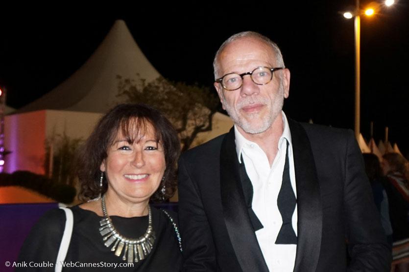 En compagnie de Pascal Grégory - Festival de Cannes 2017 - Photo © Anik Couble