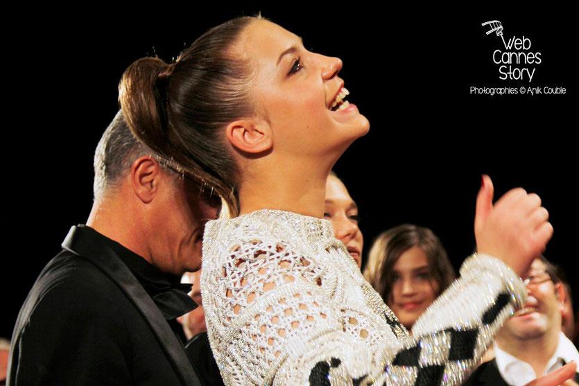 Abdellatif Kechiche et Adèle Exarchopoulos - Festival de Cannes 2013 - Photo © Anik COUBLE