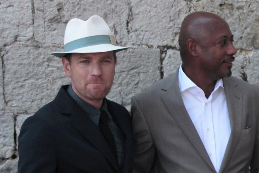 Ewan McGregor et Raoul Peck, membres du Jury - Festival de Cannes 2012 - Photo © Anik COUBLE