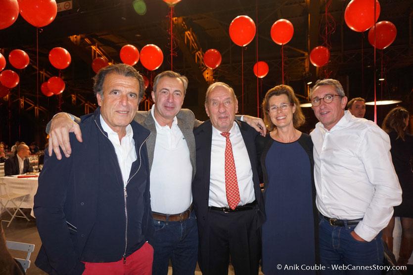 Max Lefrancq-Lumière, petit-fils de Louis Lumière, en compagnie d'amis et de membres de sa famille - Lyon -  Diner d'ouverture  - Festival Lumière 2016 - Photo © Anik COUBLE