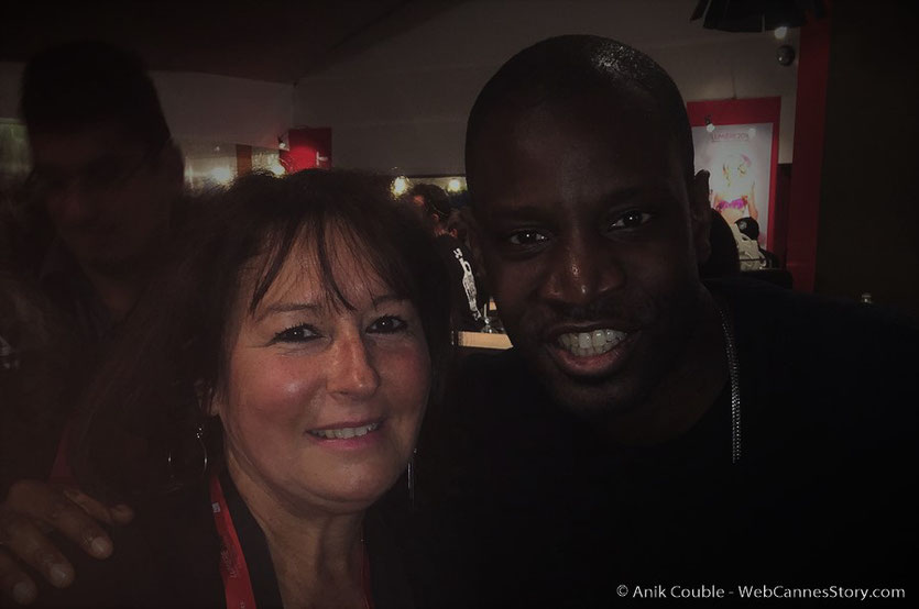 """En compagnie d'Abd Al Malik,  lors de """"La Grande Emission"""" de Radio Lumière - Festival Lumière 2016 - Lyon - Photo © Anik Couble"""