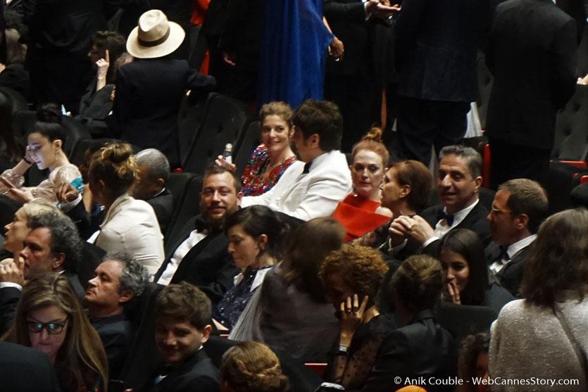 Les invités présents, lors la cérémonie d'ouverture du Festival de Cannes 2018 - Photo © Anik Couble