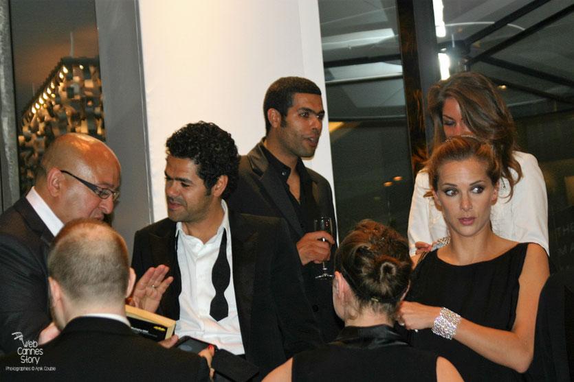 """Jamel Debbouze et Melissa Theuriau, lors de la soirée du film """"Hors la loi"""" de Rachid Bouchareb - Festival de Cannes 2010 - Photo © Anik Couble"""