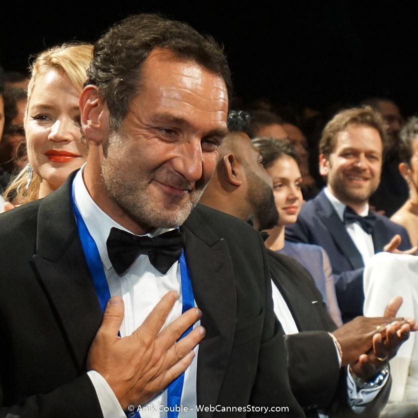 Gilles Lellouche, lors de la projection de son film, Le grand bain, présenté, le 13 mai 2018, hors compétition - Festival de Cannes 2018 - Photo © Anik Couble