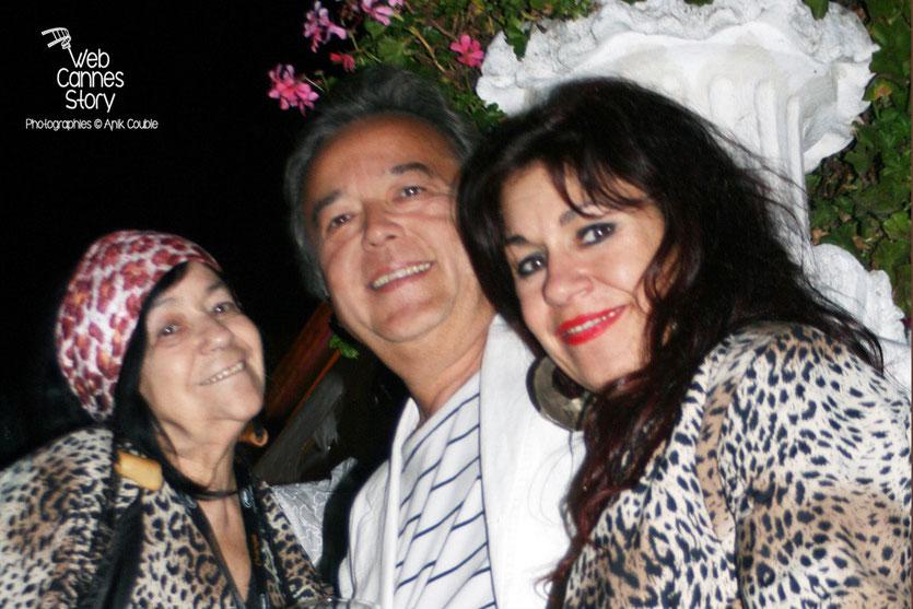 Pascaline Benito et Esméralda Petit-Benito, les célèbres femmes panthères - Festival de Cannes 2008 - Photo © Anik Couble