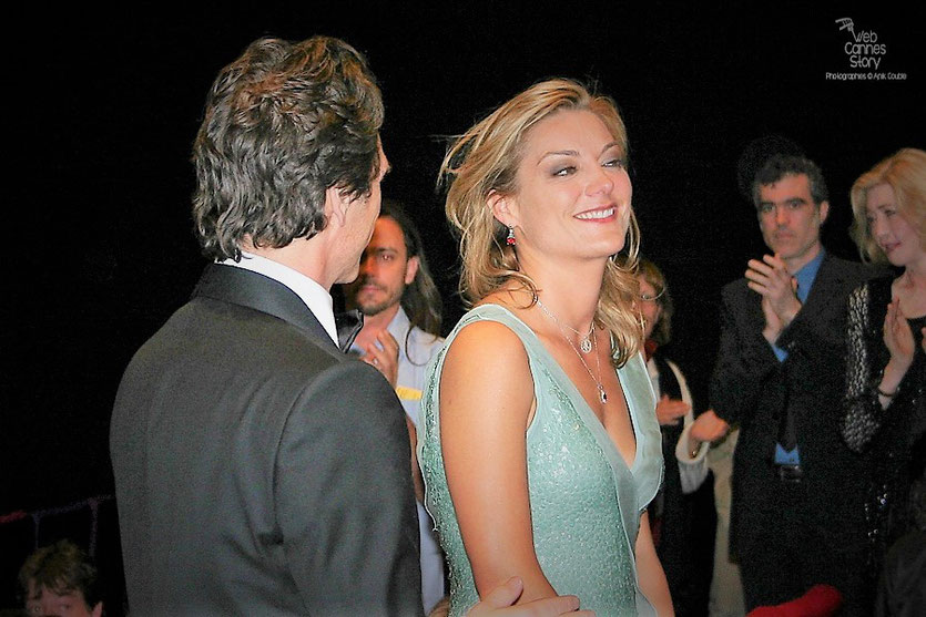 "Lucy Walker, lors de la projection de son film ""Countdown to zero"" - Festival de Cannes 2010 - Photo © Anik Couble"