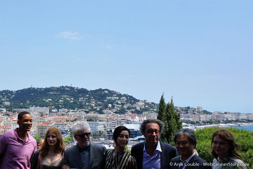 Le Jury du Festival de Cannes, lors de l'aïoli, le traditionnel déjeuner de presse, offert par le Maire de Cannes - Festival de Cannes 2017 - Photo © Anik Couble