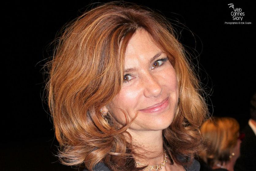 """Florence Pernel,  lors de la projection du film  """"La Piel que Habito"""" de Pedro Almodovar - Festival de Cannes 2011 - Photo  © Anik Couble"""