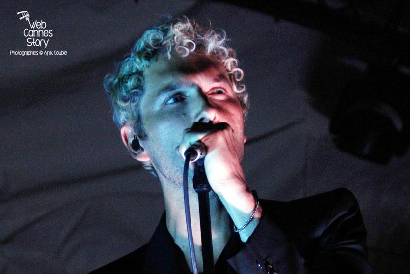"""Aaron, en concert,  lors de la soirée du film """" Le petit prince """" de Mark Osborne - Festival de Cannes 2015 - Photo © Anik COUBLE"""