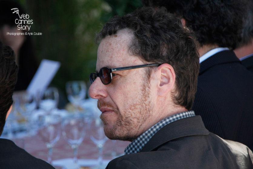 Ethan COEN, co-président du Jury, lors du traditionnel déjeuner de presse, offert par le maire de Cannes - Festival de Cannes 2015 - Photo © Anik COUBLE