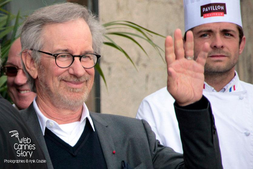 Steven Spielberg, Président du Jury - Festival de Cannes 2013 - Photo © Anik COUBLE