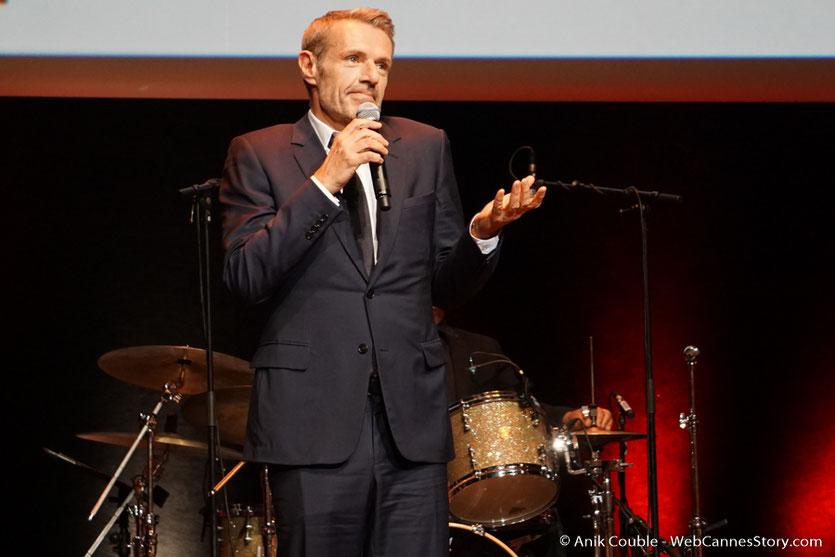 Lambert Wilson - Cérémonie de remise du Prix Lumière - Amphitheâtre 3000 - Lyon - Oct 2016  - Photo © Anik Couble