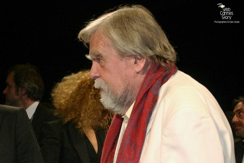 """Michael Lonsdale, lors de la projection du film """"Des hommes et de dieux """" de Xavier Beauvois - Festival de Cannes 2010 - Photo © Anik Couble"""