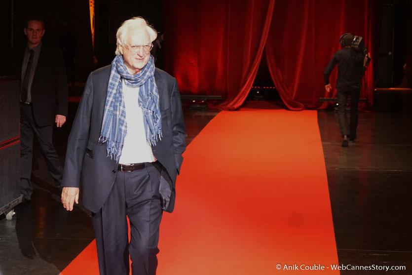Bertrand Tavernier - Cérémonie d'ouverture - Festival Lumière 2016 - Lyon - Photo © Anik Couble