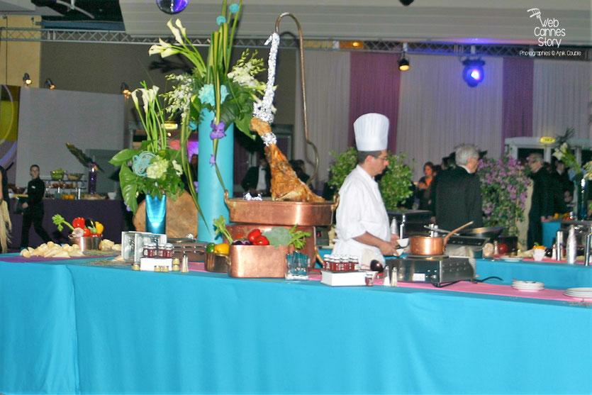 Le buffet de de la soirée de Clôture - Festival de Cannes 2010 - Photo © Anik Couble