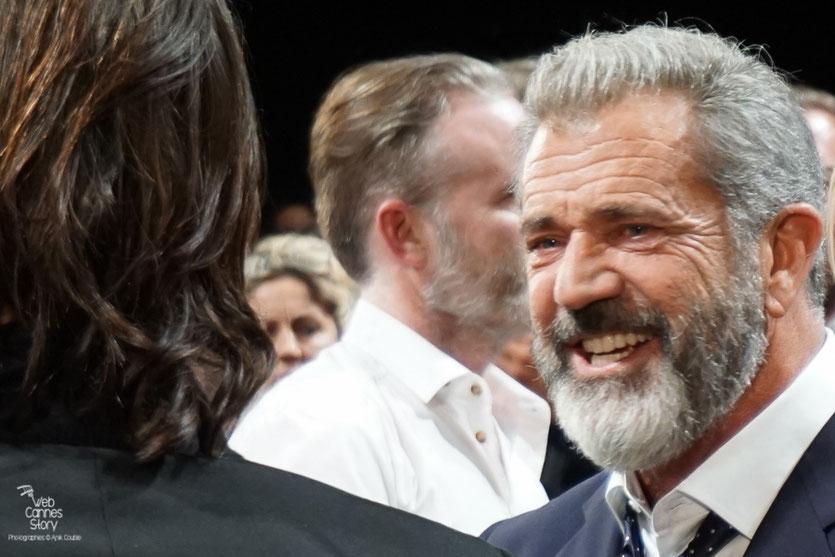 """Mel Gibson, lors de la projection du film """"Blood Father"""" de Jean-François Richet - Festival de Cannes 2016 - Photo © Anik Couble"""