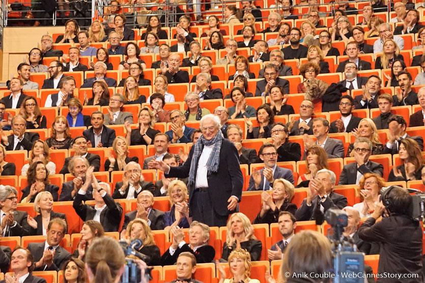 Bertrand Tavernier - Cérémonie de remise du Prix Lumière - Amphithéâtre 3000 - Lyon - Oct 2016 - Photo © Anik Couble