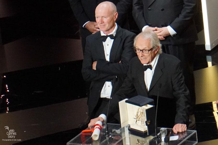 """Ken Loach,  Palme d'or pour """"Moi, Daniel Blake"""" - Festival de Cannes 2016 - Photo © Anik Couble"""