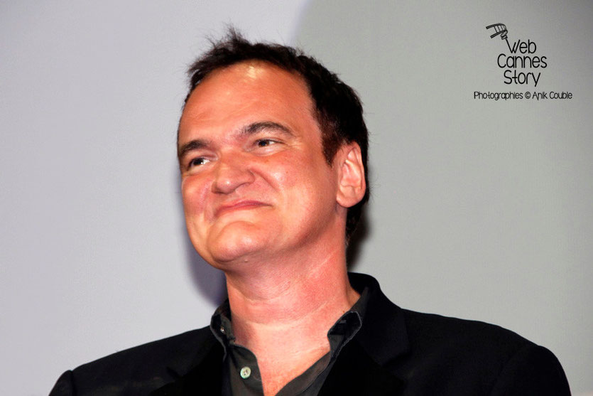 Quentin Tarantino - Festival Lumière - Lyon - Oct 2013 - Photo © Anik COUBLE