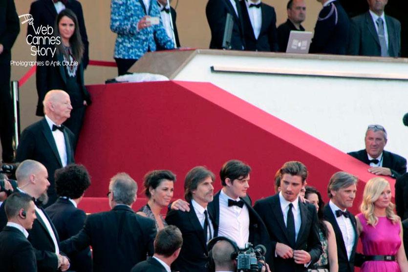 Gilles Jacob prêt à accueillir l'équipe du film de Walter Salles - Festival de Cannes 2012 - Photo © Anik COUBLE
