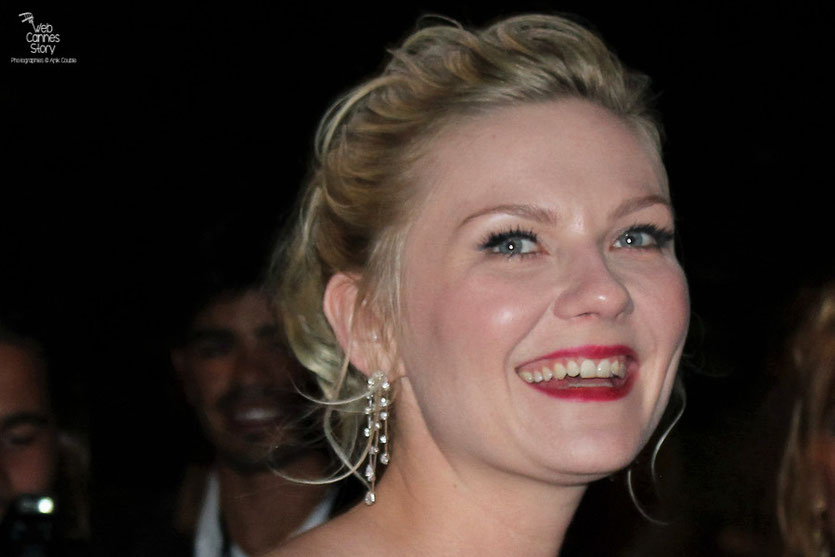 Kirsten Dunst, Prix d'interprétation féminine - Festival de Cannes 2011 - Photo © Anik Couble