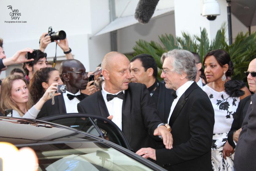 Robert de Niro, Président du Jury - Festival de Cannes 2011 - Photo © Anik Couble