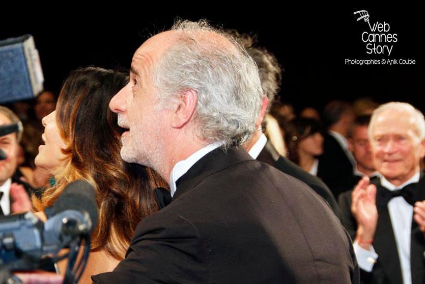 Toni Servillo, lors de la projection du film «La Grande Bellezza» de Paolo Sorrentino - Festival de Cannes 2013 © Anik COUBLE