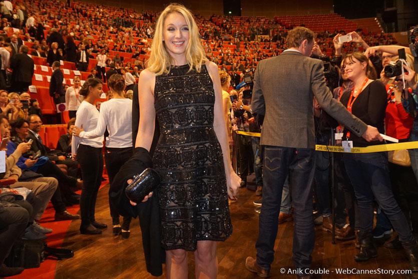 Arrivée de Ludivine Sagnier à la cérémonie de remise du Prix Lumière - Amphitheâtre 3000 - Lyon - Oct 2016  - Photo © Anik Couble