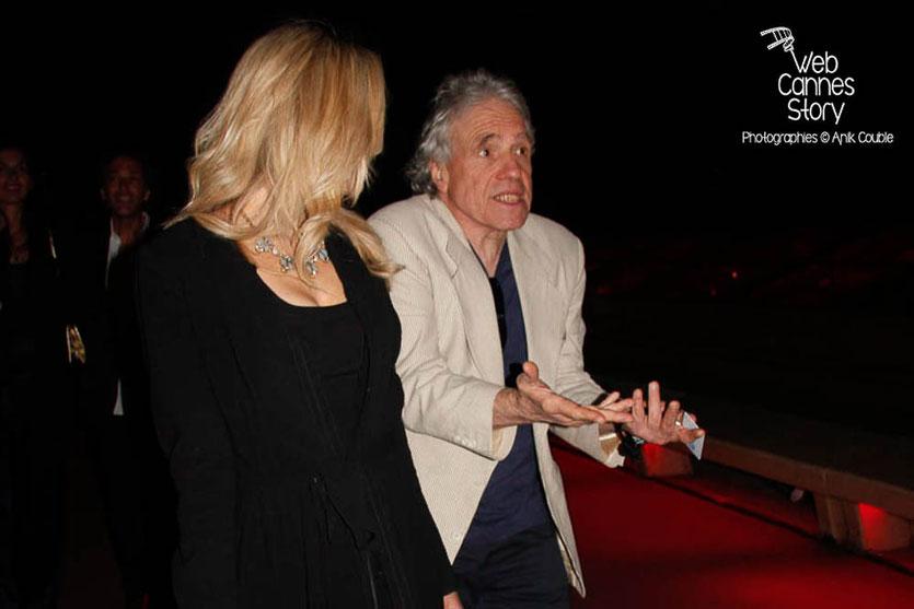 Abel Ferrara, sur la croisette, avant la présentation de son film « Welcome to New York » présenté en marge du Festival de Cannes 2014 - Photo © Anik COUBLE