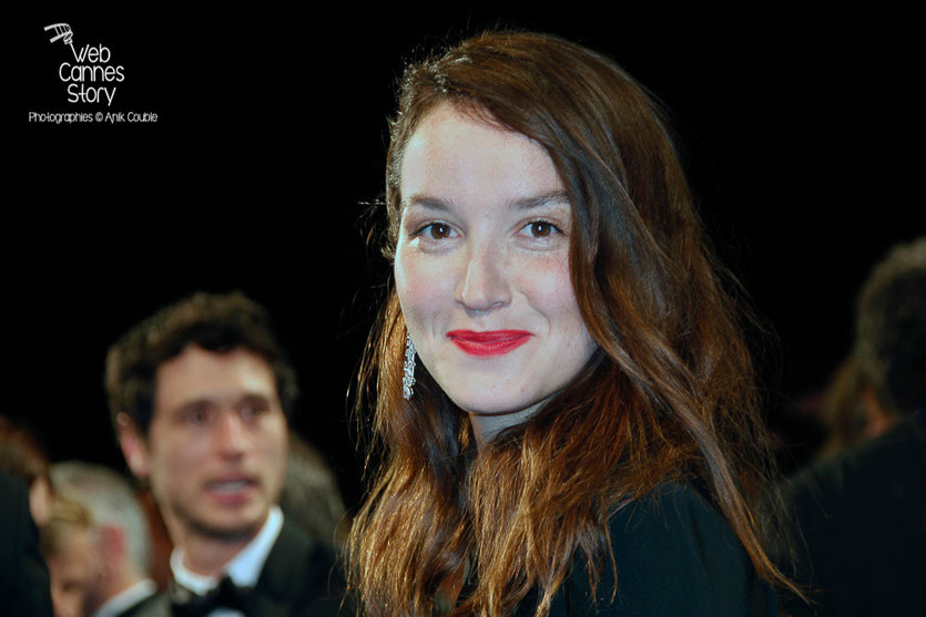 """Anaïs Demoustier, lors la projection du film  """"Marguerite et Julien"""" de Valérie Donzelli  -  Festival de Cannes 2015 - Photo © Anik COUBLE"""